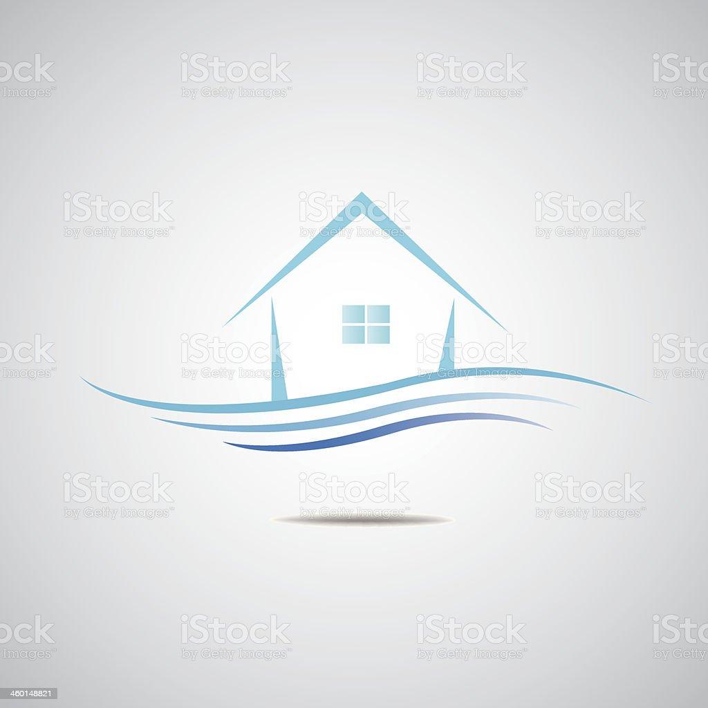 Home Logo home logo estate icon stock vector more images of