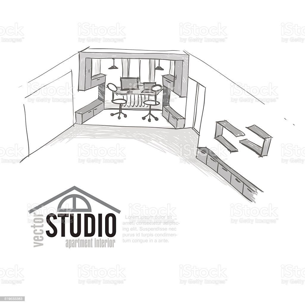 Как нарисовать офис