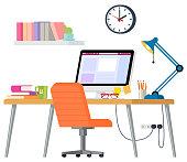 istock Home office 1220116431