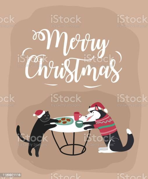 Home pets dressed in christmas costumes with accessories and knited vector id1189921116?b=1&k=6&m=1189921116&s=612x612&h=hj29ilaobjqraslzroym5rmmidpmxkzkd2ojari25ye=