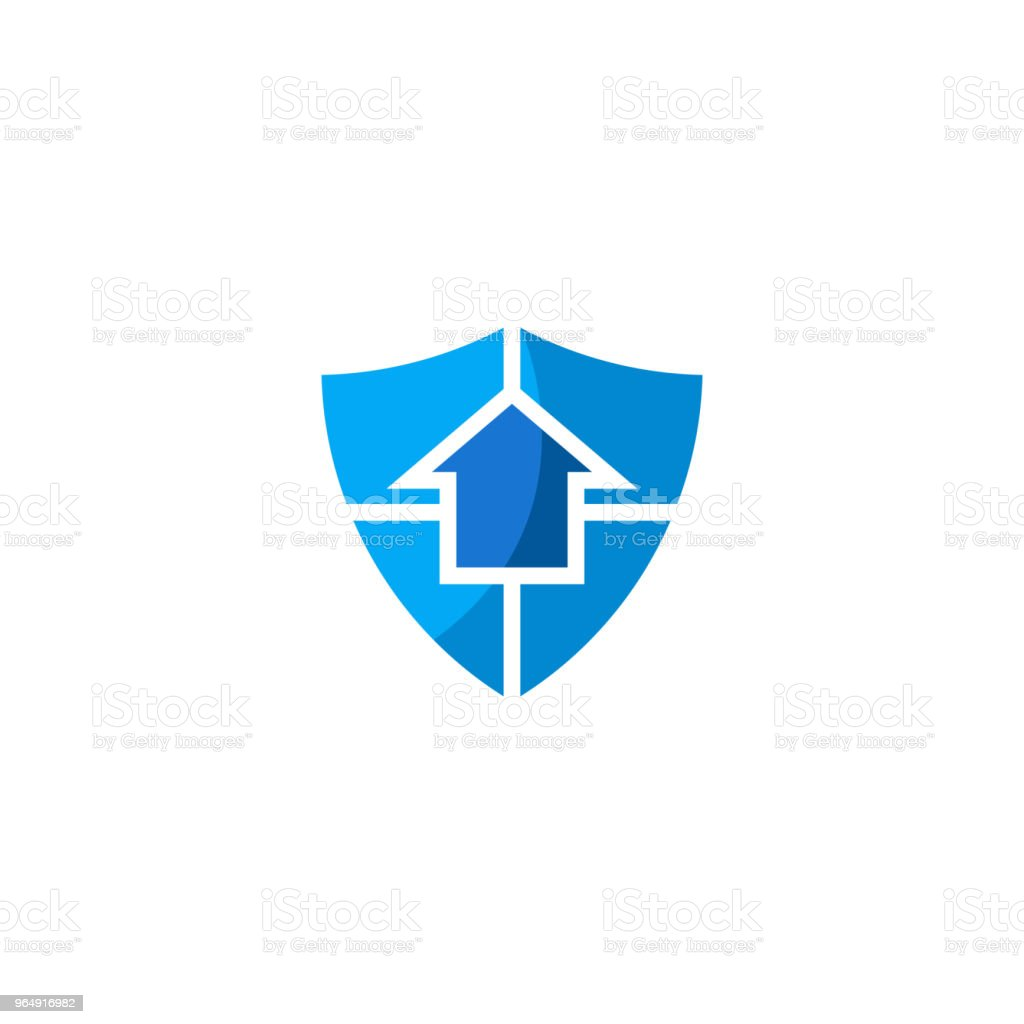 Home protect icon royalty-free home protect icon stock vector art & more images of abstract