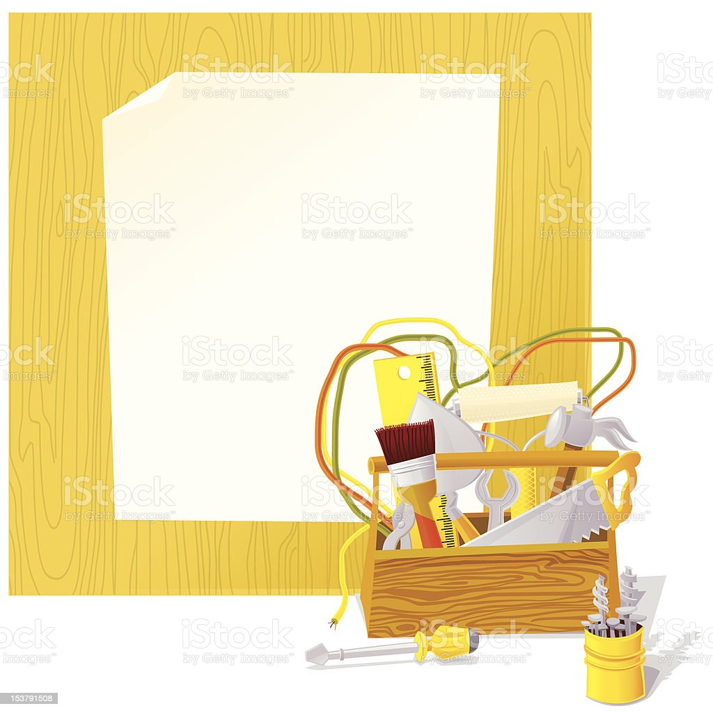 Home Renovation Tools Background Stock Illustration Download Image Now Istock