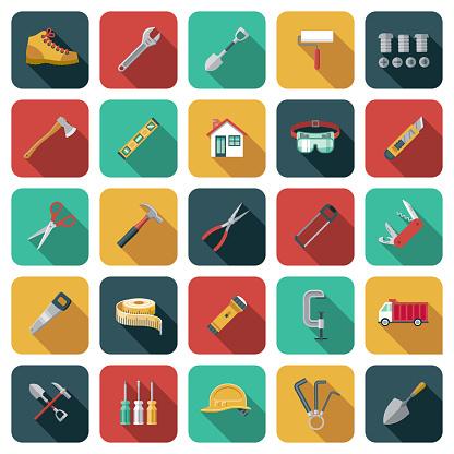 Home Renovations Icon Set