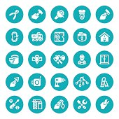 Building - Activity, Working,  Computer Icon set, Work Tool