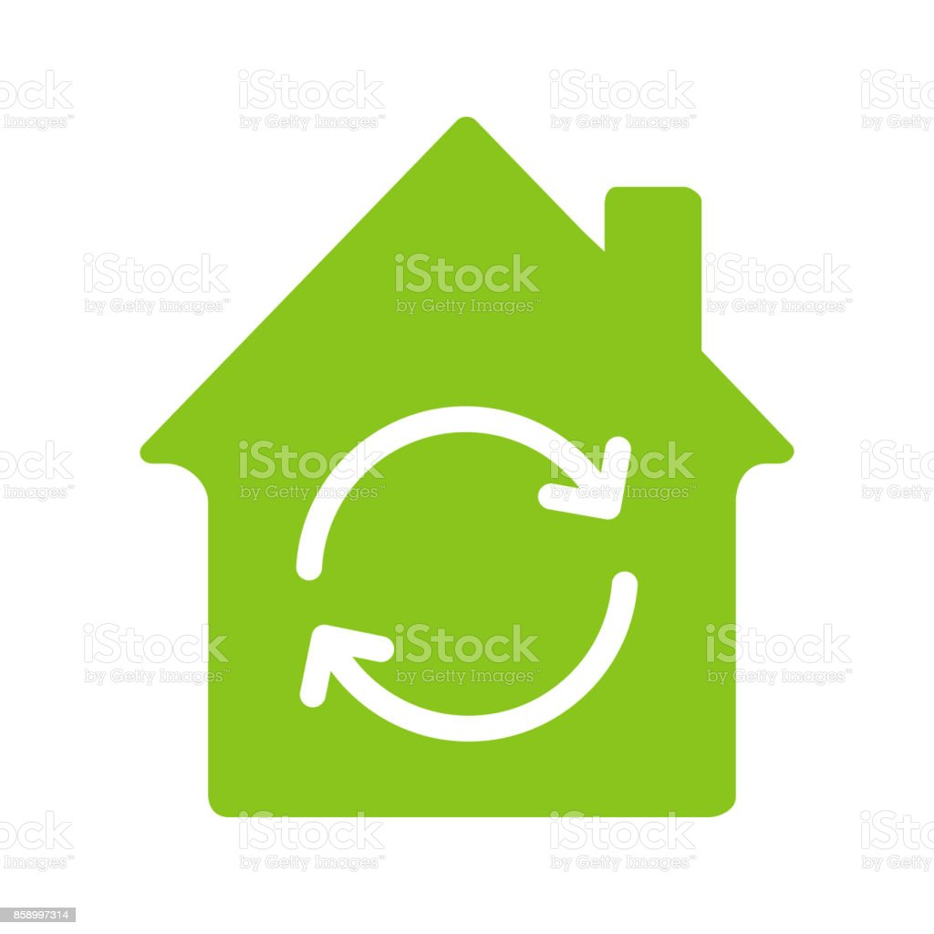 Home restoration replacement icon stock vector art more images of built structure circle pie chart residential building ukraine nvjuhfo Choice Image