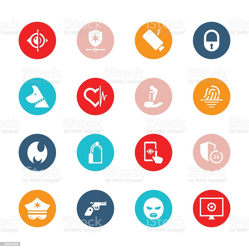 Home security care icon set tide series stock vector art more home security care icon set tide series royalty free home security care icon biocorpaavc