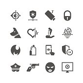 Unique home security & care related icon can beautify your designs & graphic