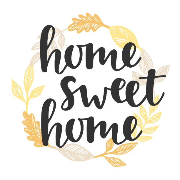 Best Home Sweet Home Illustrations, Royalty-Free Vector ...