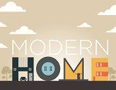 Home Type Illustration