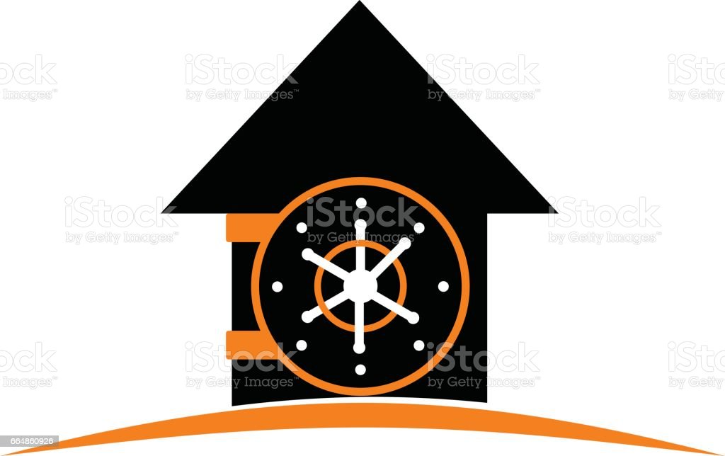 Casa bóveda - ilustración de arte vectorial
