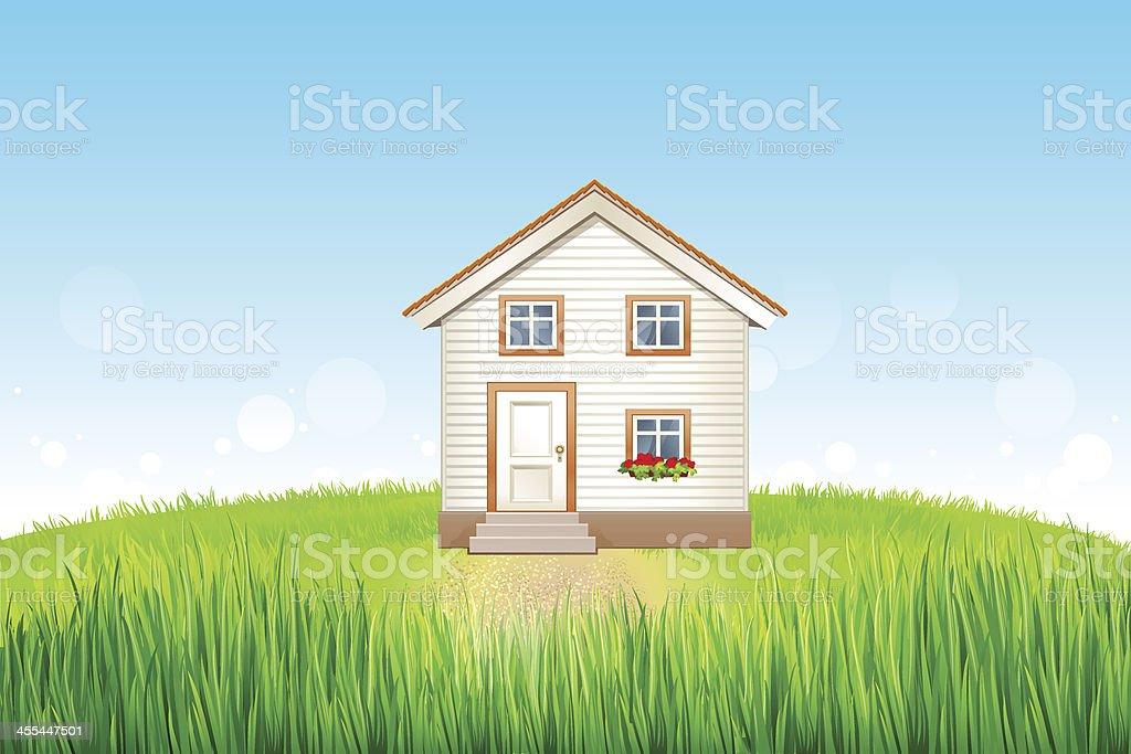 La maison - Illustration vectorielle