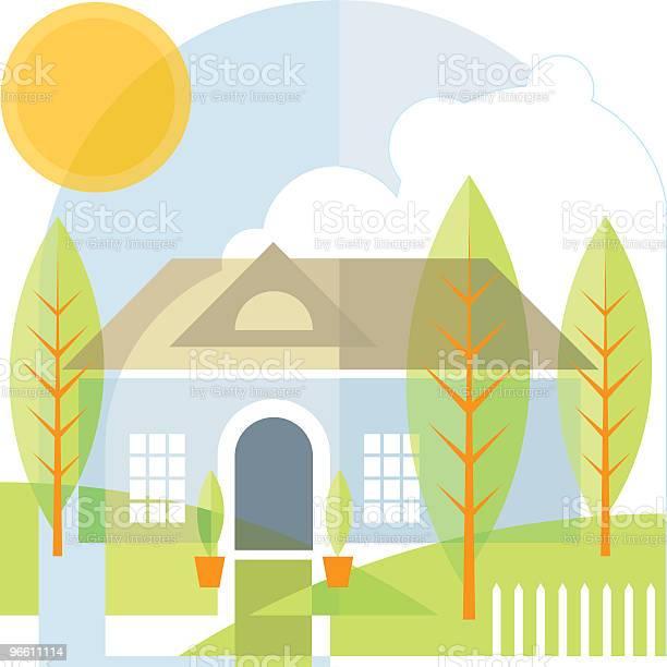 Home-vektorgrafik och fler bilder på Arkitektur
