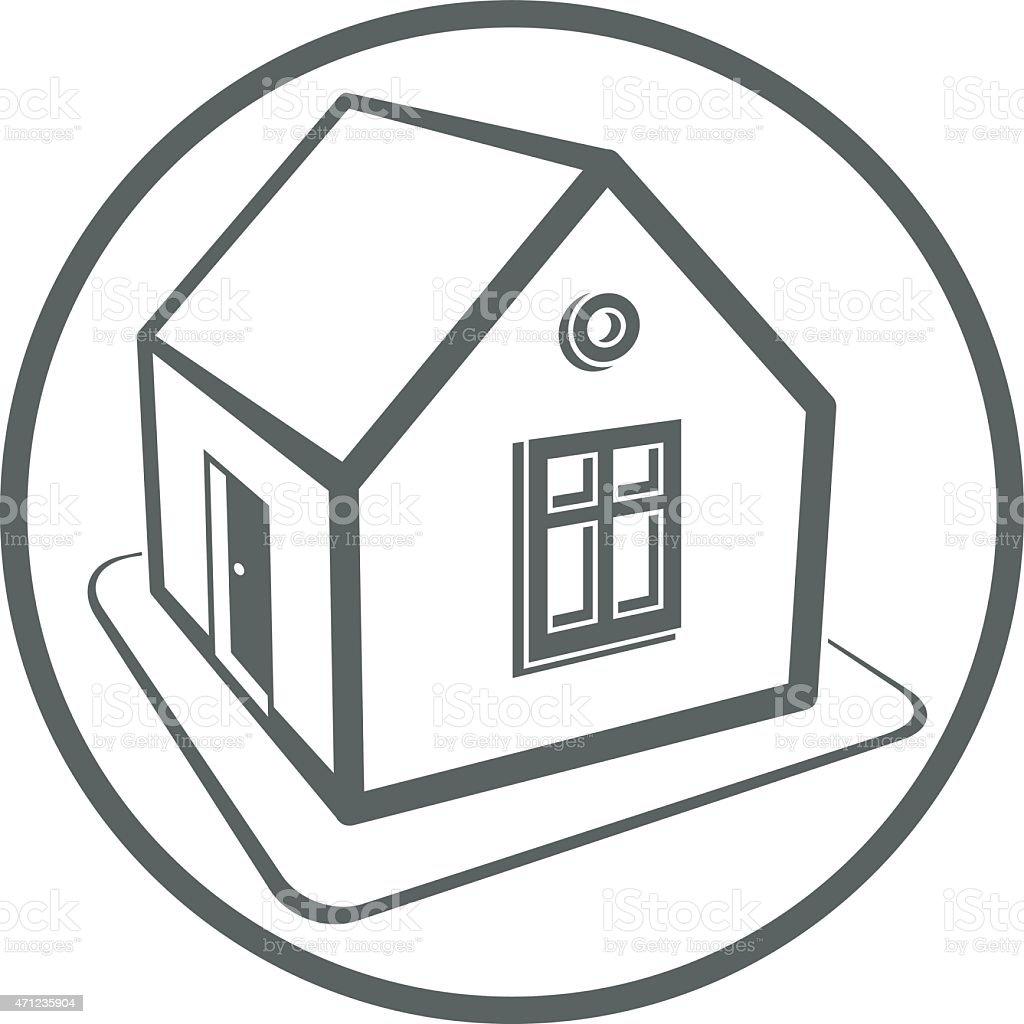 Sito Per Progettare Casa casa simbolo vettoriale possono essere utilizzati per la