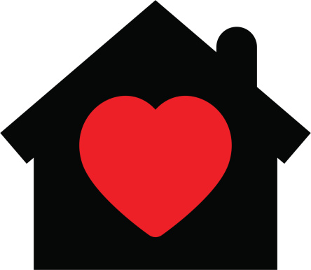Download Home With Heart Icon Stock Illustration - Download Image ...