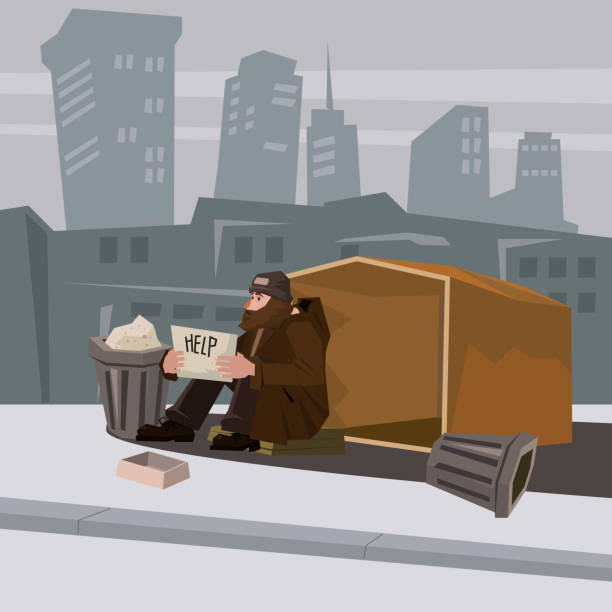 homeless man with paper sign cartoon style vector illustration comic vector id992769684?k=6&m=992769684&s=612x612&w=0&h=U0hMESvmayBnxkMeCEuvdSJ83mkISbMjmhTqj 6J eU= - Kamis Pagi Ini, IHSG Kembali Lesu di Level 4.531, Indeks LQ45 Melemah 7,34 Poin