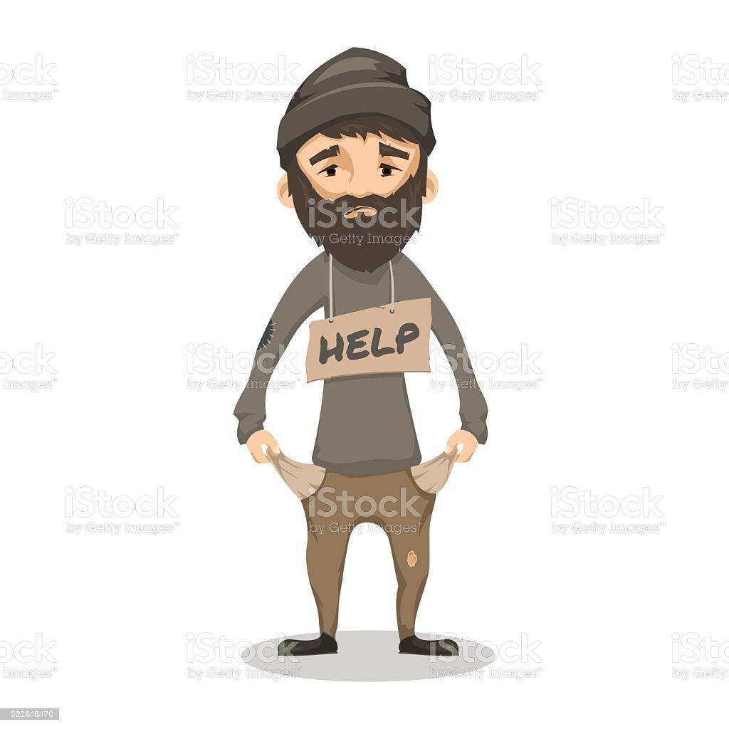 royalty free homeless man clip art vector images illustrations rh istockphoto com clip art of a man ministering clip art of a mentor