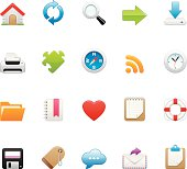 Homepage vector icons - Huge set #6