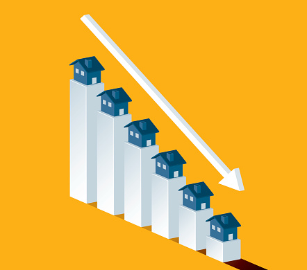 Homes decreasing in value