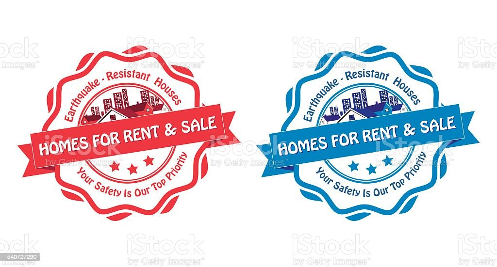 homes for rent sale printable labels for real agencies royalty free homes for