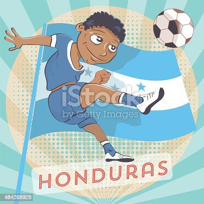 istock honduras soccer player 484268925