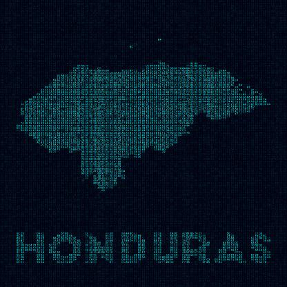 Honduras tech map.
