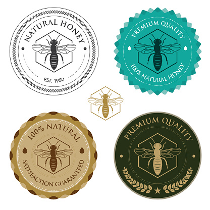 Honey Bee badges
