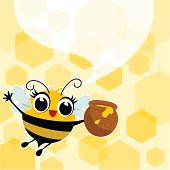 bee and honey jar. Please, you can see more of my original work in my lightboxs:http://i681.photobucket.com/albums/vv179/myistock/ani2.jpg