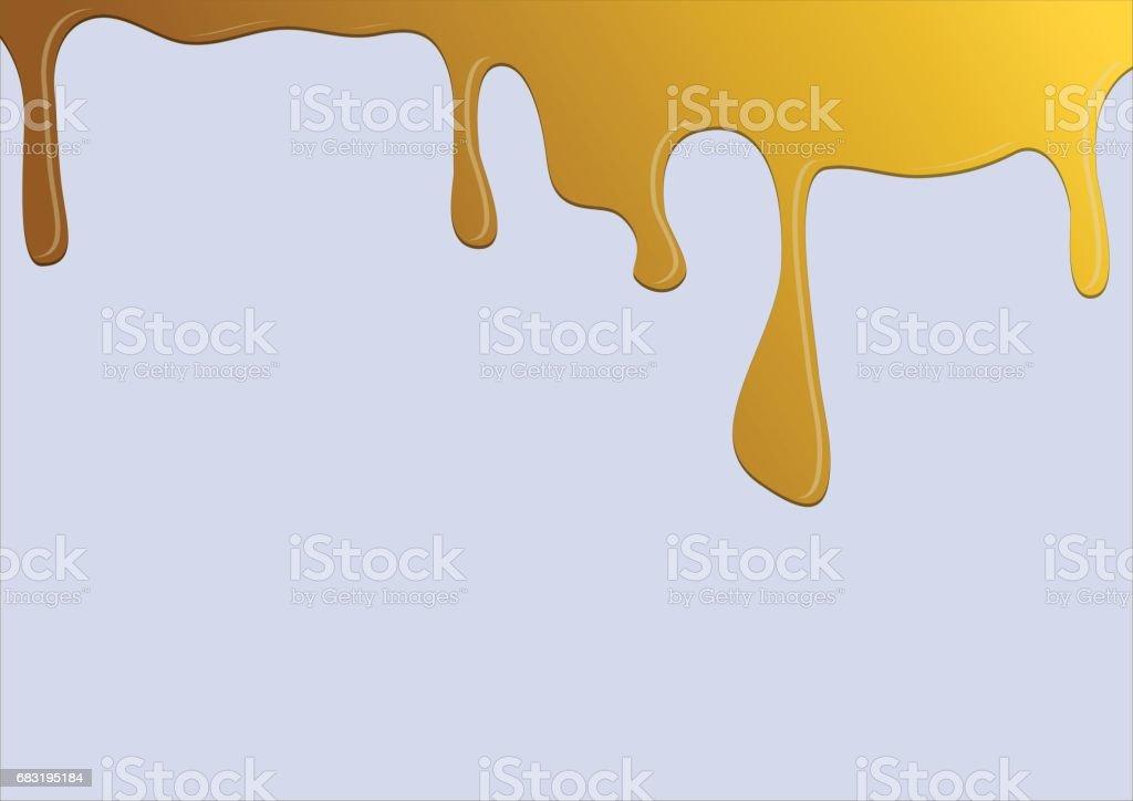 分離流蜜。向量圖。 免版稅 分離流蜜向量圖 向量插圖及更多 乾淨 圖片