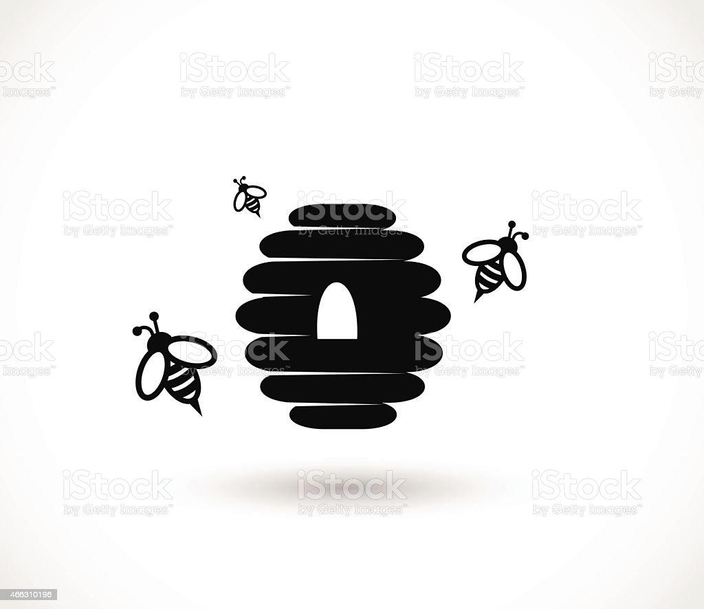 Honey icon vector illustration vector art illustration
