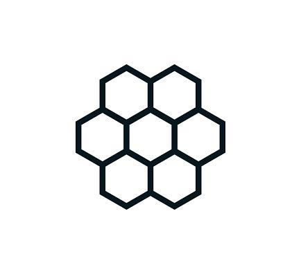 Honey icon vector logo template