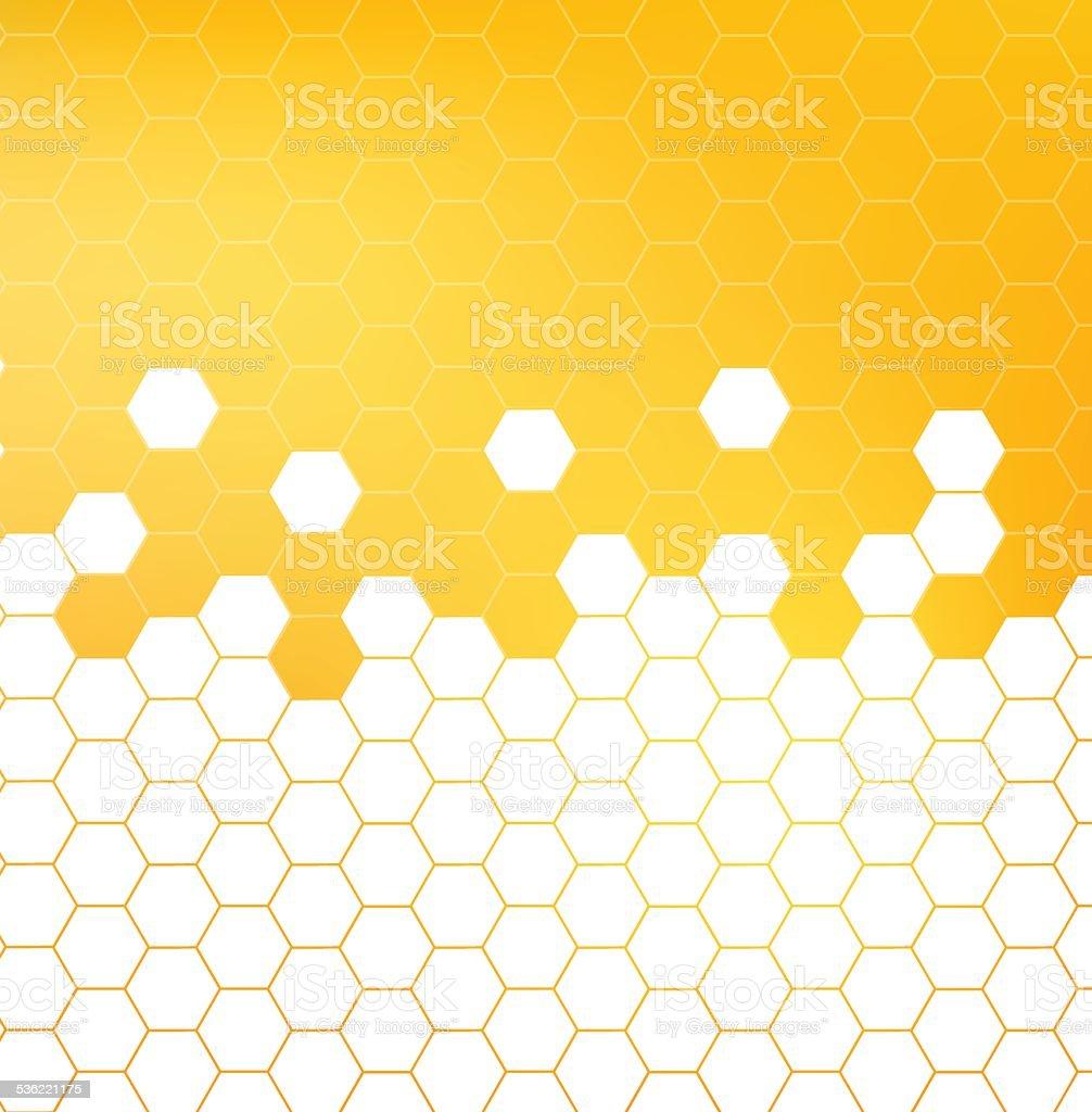 Honey pattern vector illustration vector art illustration