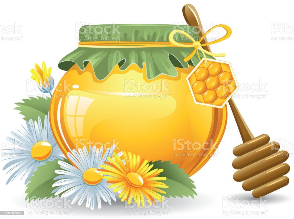 Honey royalty-free stock vector art