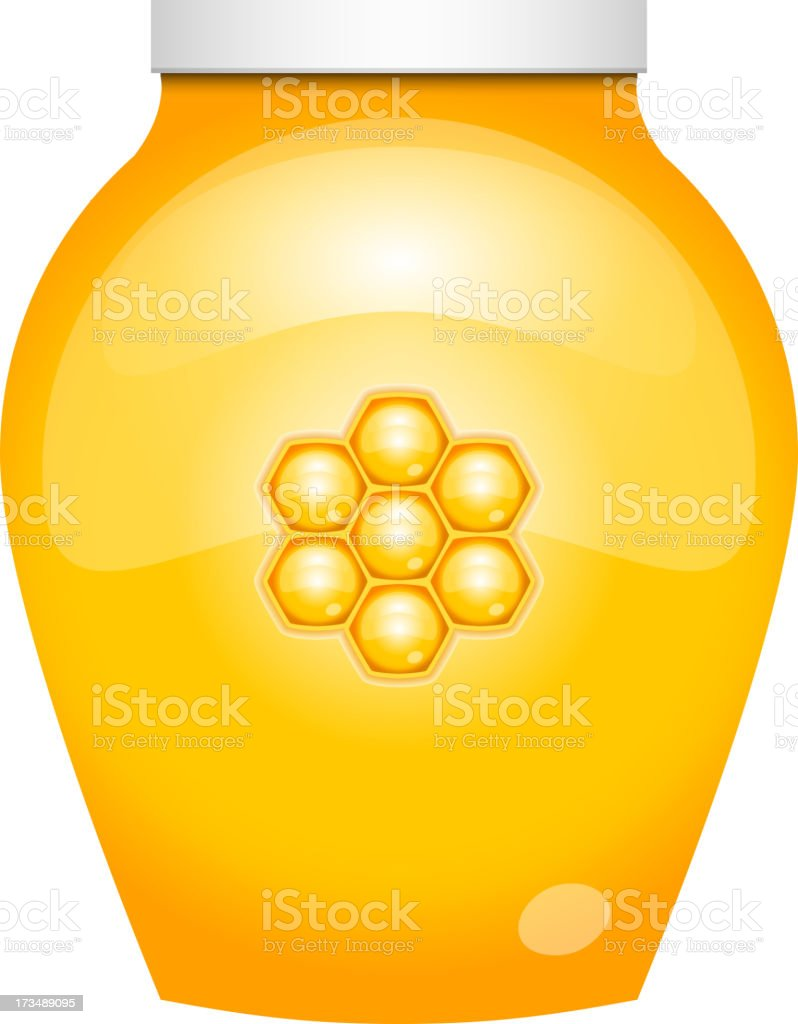 honey royalty-free stock vector art