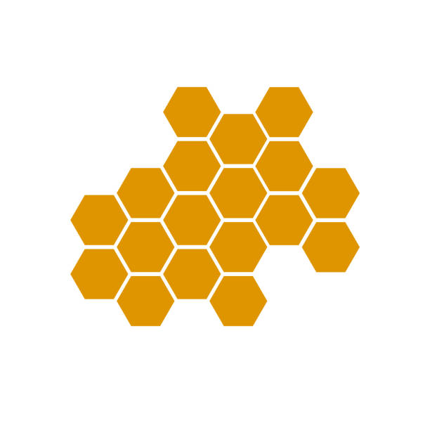 honeycomb bee icon on white background. honeycomb icon for your web site design, logo, app, UI. flat style. honey comb sign. honeycomb bee icon on white background. honeycomb icon for your web site design, logo, app, UI. flat style. honey comb sign. hexagon stock illustrations