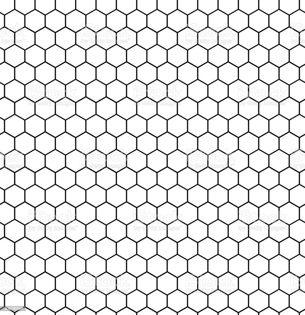 Honeycomb seamless illustration vector art illustration