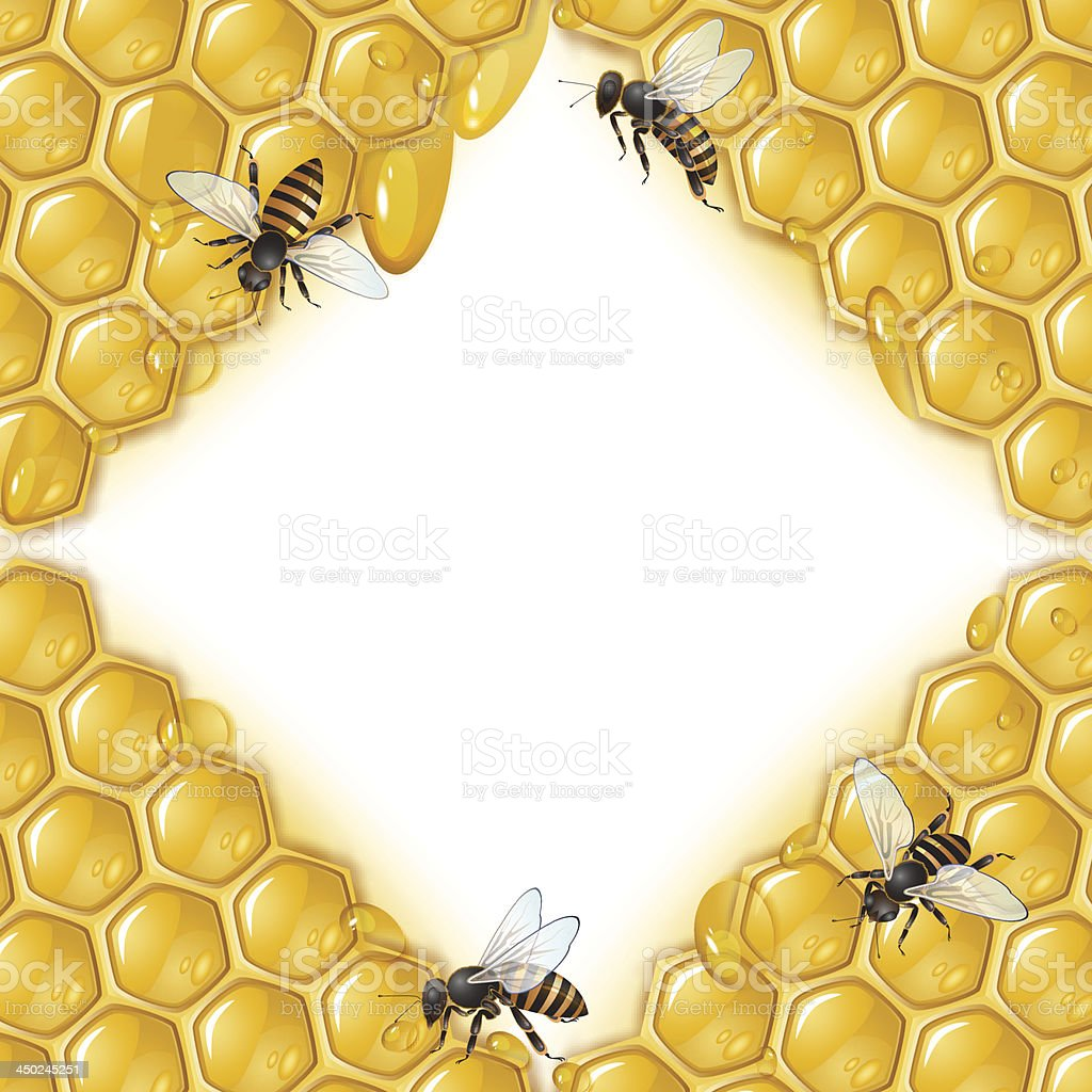 Honeycombs and bees royalty-free honeycombs and bees stock vector art & more images of activity