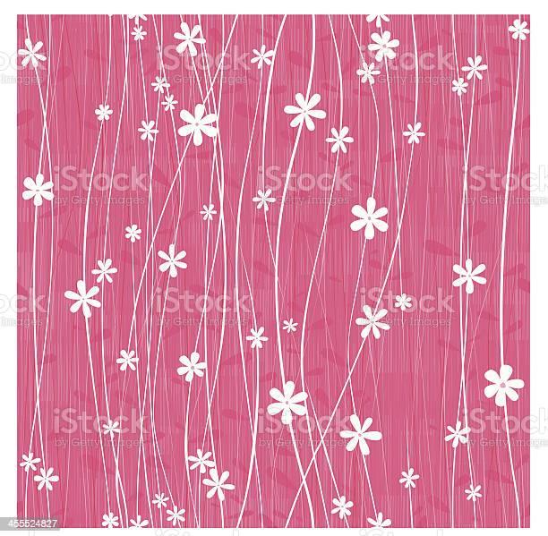 Honeysuckle Flower Seamless Background Stock Illustration - Download Image Now