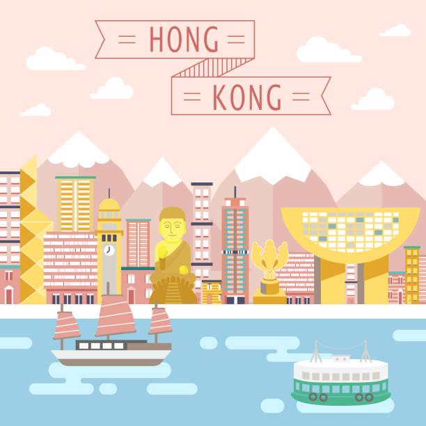 Hong Kong Art: Royalty Free Peak Tower Clip Art, Vector Images