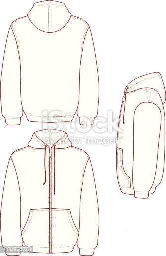 Hooded Full Zip Fleece