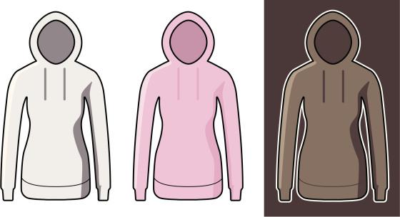 hooded girls sweatshirt