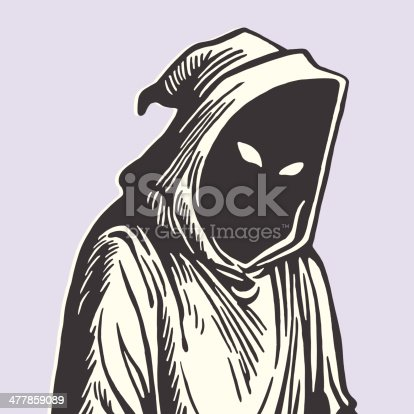 Hooded Grim Reaper