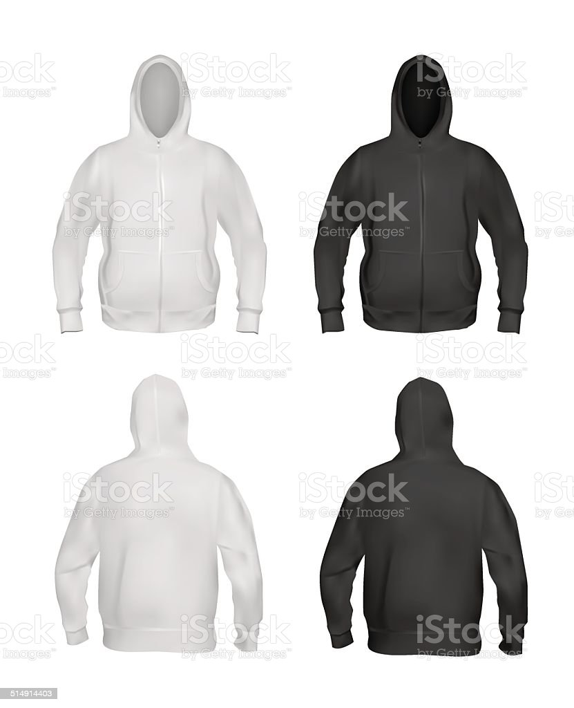 Royalty Free Black Hoodie Clip Art, Vector Images & Illustrations