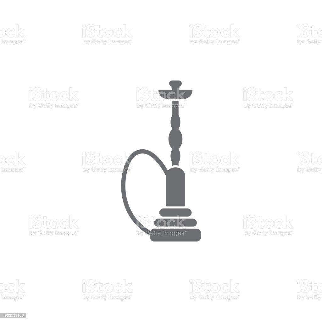 Shishasymbol Einfaches Element Abbildung Shishasymboldesignvorlage ...