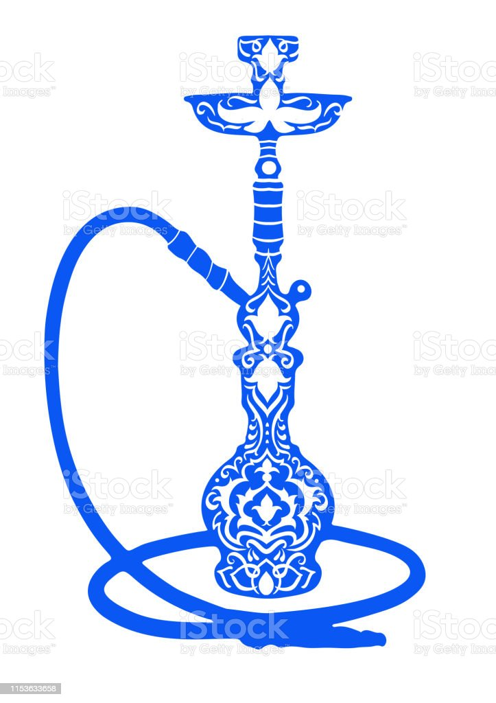 Hookah Logo Vector Illustration Handdrawn Flower Arabic Islamic Pattern Vector Illustration For A Menu Restaurant Or Cafe Arabian Oriental Cuisine With Hookah Business Cards Stock Illustration Download Image Now Istock