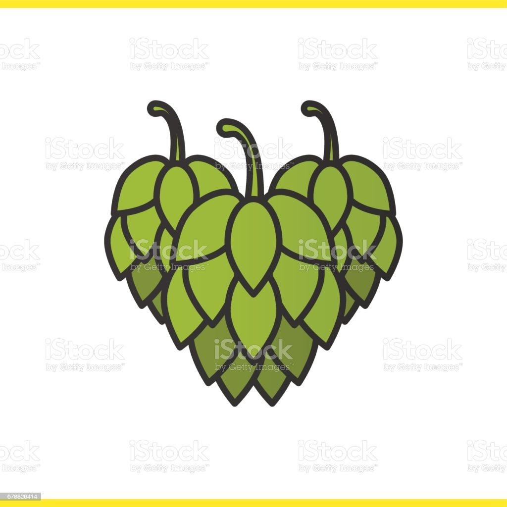 Hop koni simgesi royalty-free hop koni simgesi stok vektör sanatı & cut out'nin daha fazla görseli