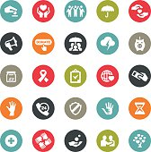 Hope and Care icons / Ringico series