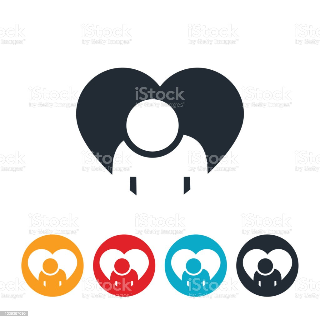 Hope For The Depressed Icon vector art illustration