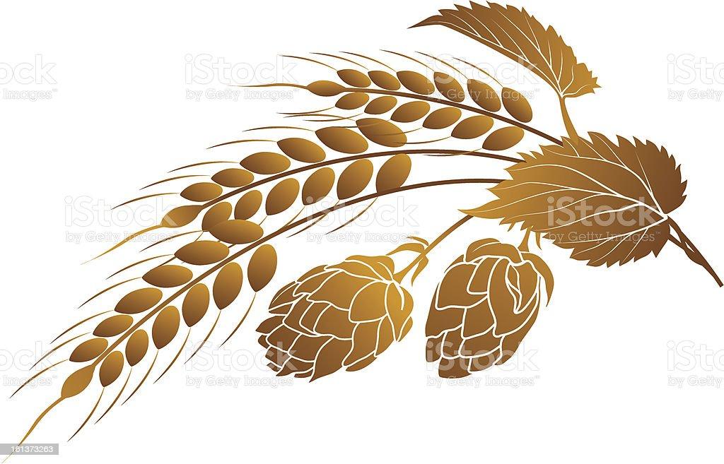 royalty free barley clip art vector images
