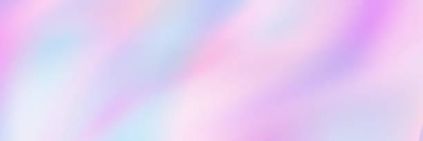 poziomy abstrakcyjny holograficzny projekt tekstury dla wzoru i tła - pastelowy kolor stock illustrations