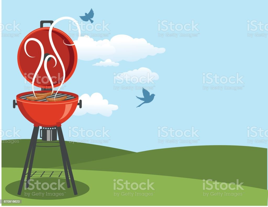 royalty free fourth of july bbq clip art vector images rh istockphoto com clipart backyard party backyard clipart free